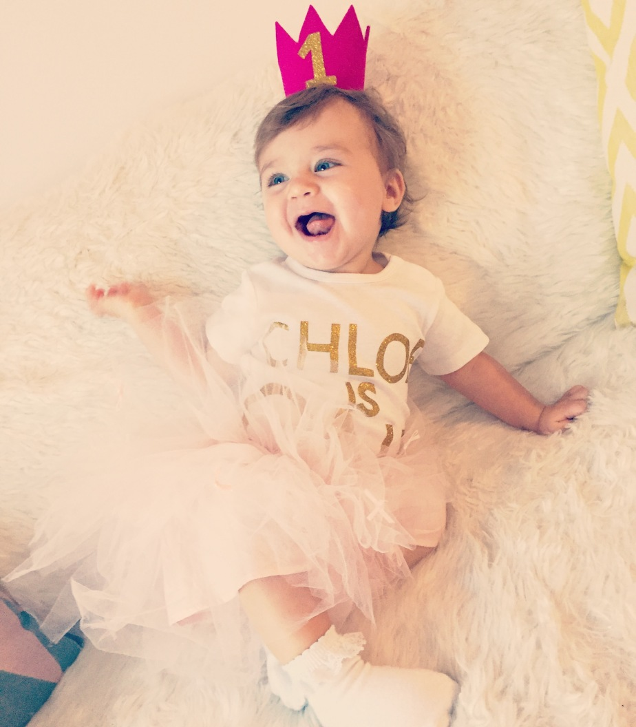 CHLOE IS 1 YEAR OLD !!! HAPPY BIRTHDAY SWEETHEART !!! ❤️