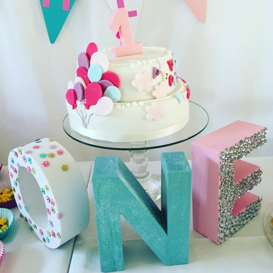 1ST BIRTHDAY CELEBRATIONS !!!
