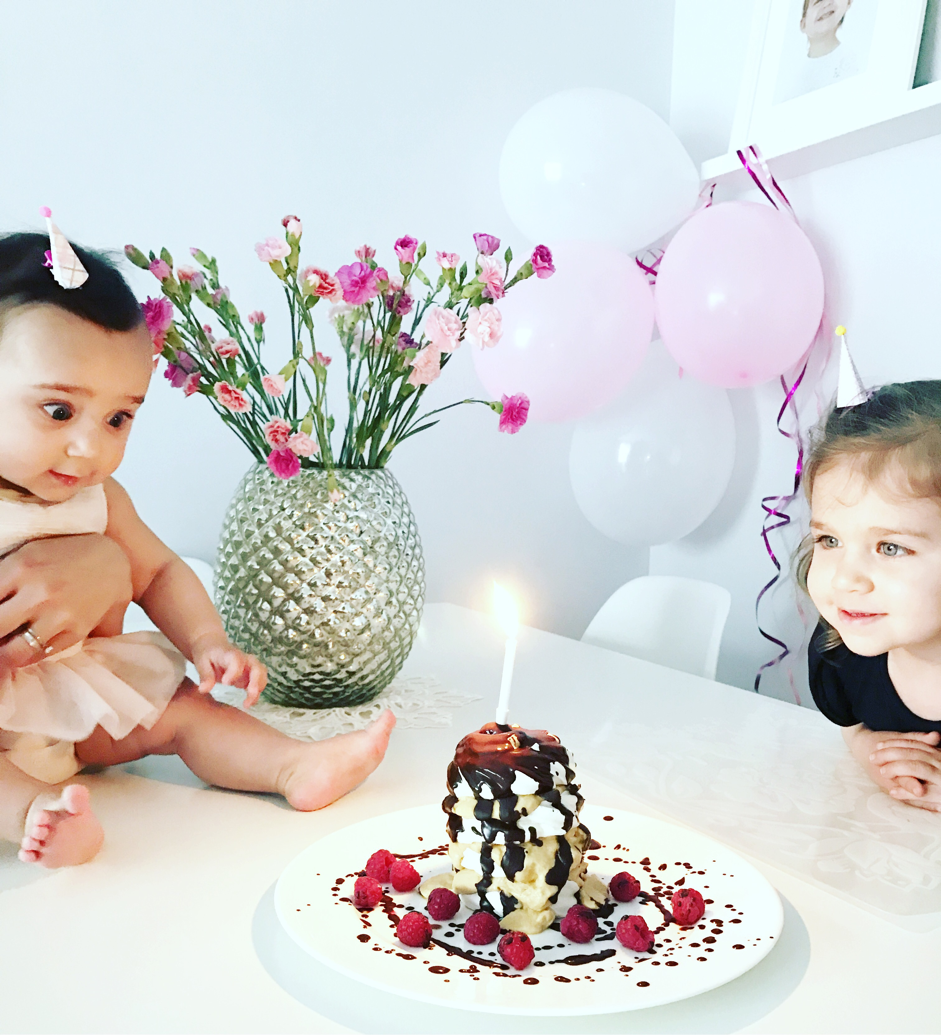 6 Months Of Seeing Chloe Becoming The Most Loving And Wonderful Big Sister HAPPY 1 2 BIRTHDAY BABY GIRL
